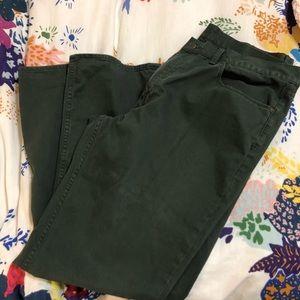 Army green Ralph Lauren pants 40/32